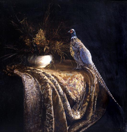 Натюрморт с фазаном.