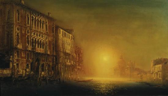 «Венеция. Вид на церковь Санта Мария делла Салюте с Большого Канала»