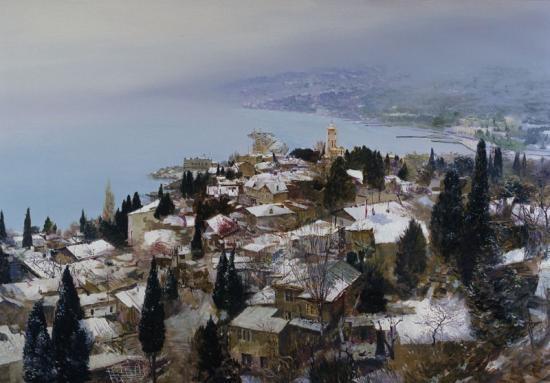 «Первый и последний снег в Ялте».