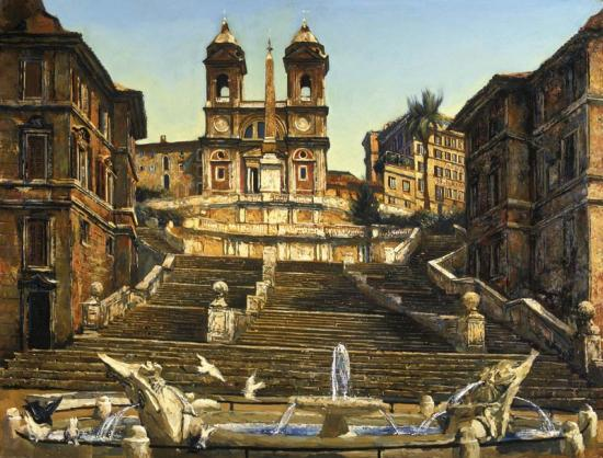 «Рим. Площадь Испании»