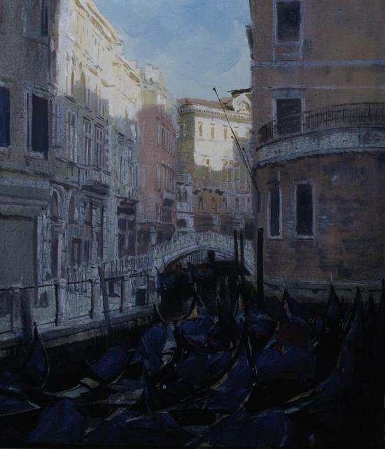 «Венеция. Голубые гондолы»