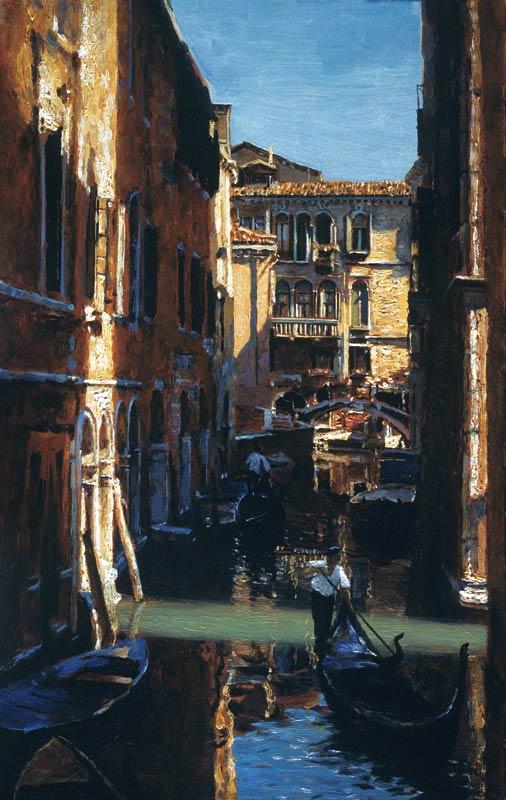 «Венеция. Канал Сан Сильвестро. Таинственный свет»