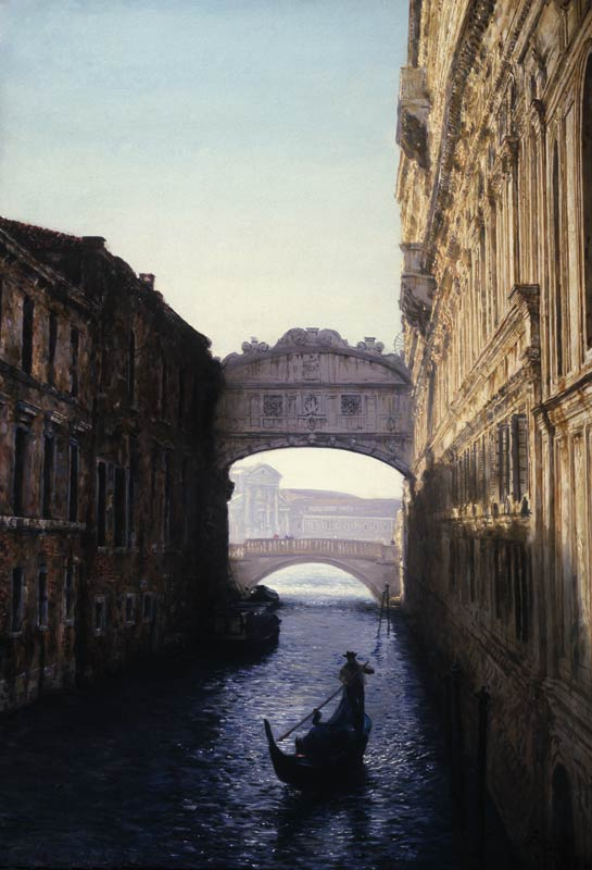 «Венеция. Мост Вздохов»
