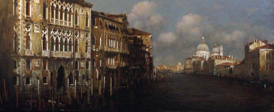 «Венеция. Большой канал и дворец Франкетти в полдень»
