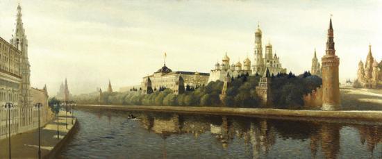 «Москва. Вид на Кремль с Большого Каменного моста»