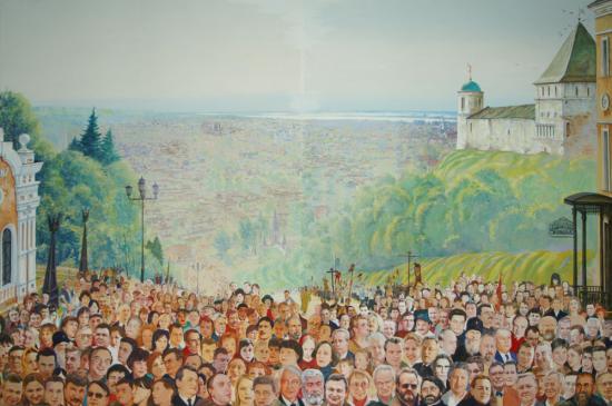 Тобольск. Роспись плафона