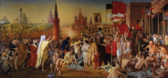 «Явление народа. Русские патриоты, изгоняющие воров и негодяев»