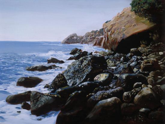 «Крым. Алупка. Морские камни»