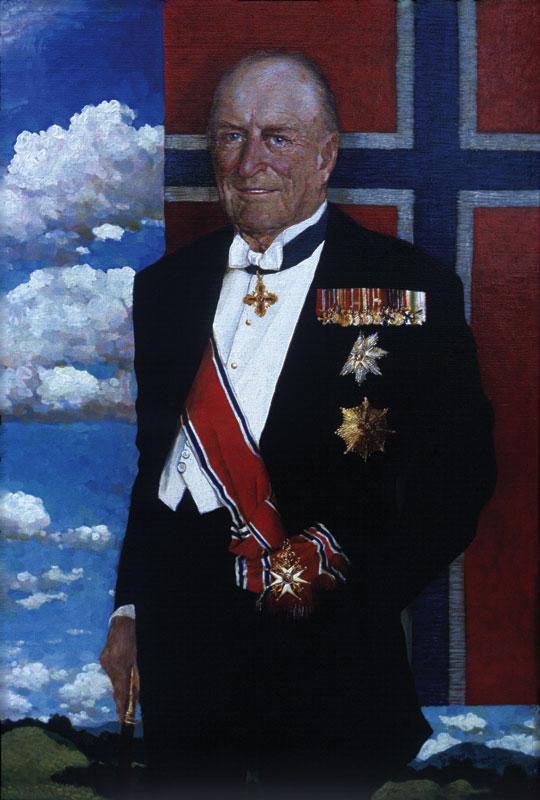 «Портрет короля Норвегии Олафа».
