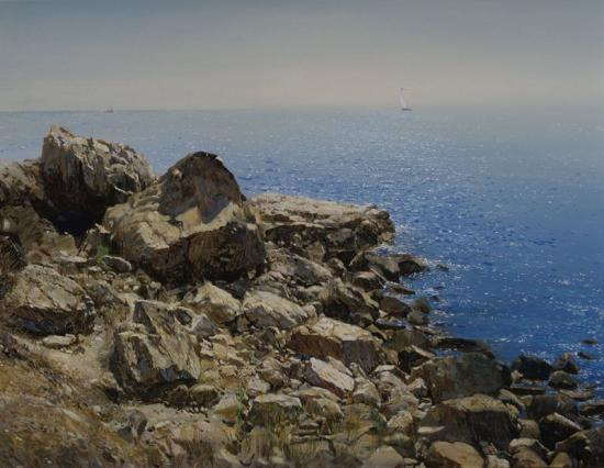 «Крым. Алупка. Светлые камни».