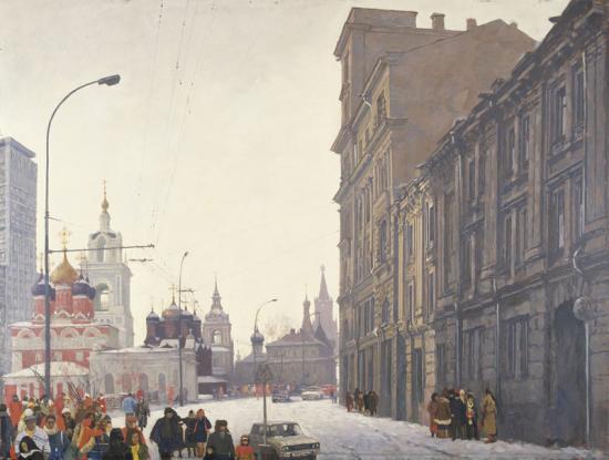 «Москва. Улица Разина (Варварка)»