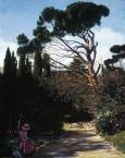 «Аллея в Воронцовском парке. Отдых»